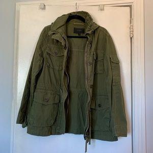 Jcrew Green utility jacket